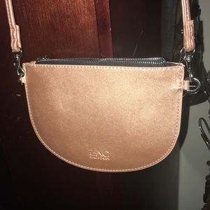 Rose gold Zac Posen small purse